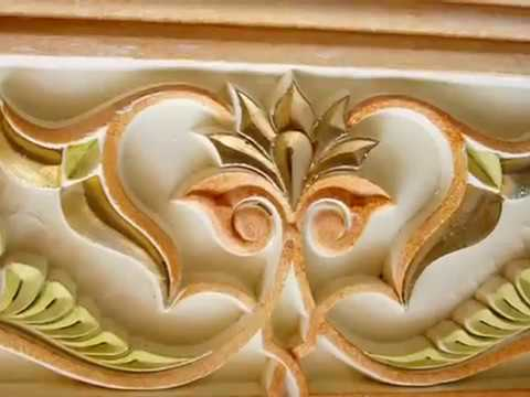 Peinture d corative sur platre youtube for Peinture decorative