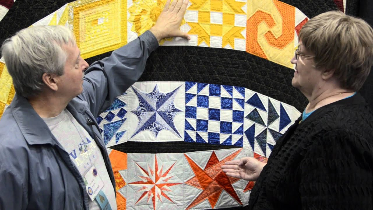Roger Winchell Enters the AQS Quilt Show for the First Time - YouTube : aqs quilt show - Adamdwight.com