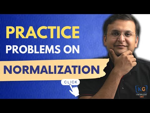 Practice Problems on NORMALIZATION | DBMS | part-14