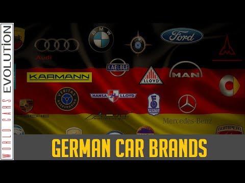 W.C.E German Car Brands, Companies & Manufacturer Logos