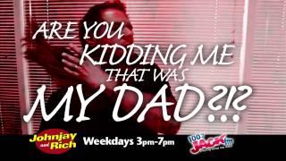 KFMB-FM 100.7 JackFM Johnjay & Rich June 2014
