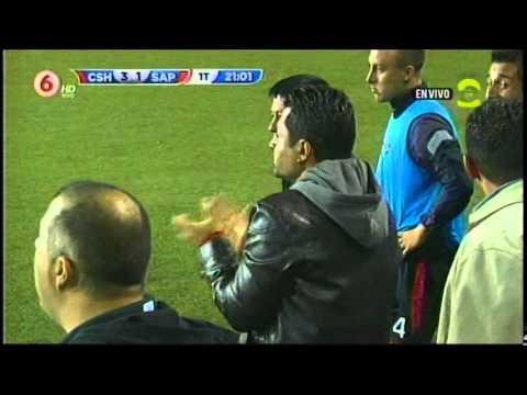 02-11-2014 Gol de Club Sport Herediano. Esteban Ramírez hace la tercera anotación