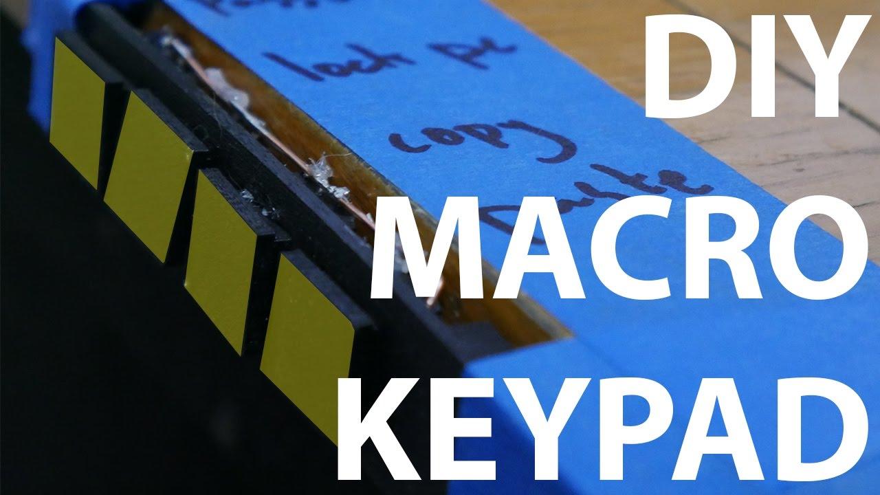 Arduino Macro Keypad DIY | Malduino