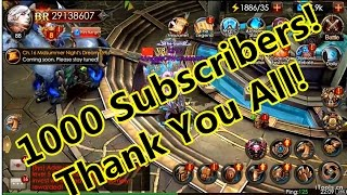 Video 1000 Youtube Channel Subscribers- Thank you Video! download MP3, 3GP, MP4, WEBM, AVI, FLV November 2017