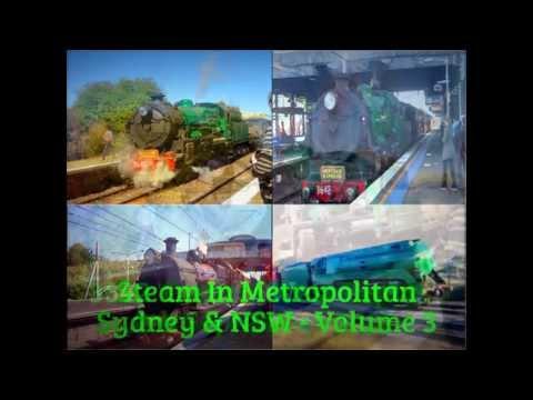 Steam In Metropolitan Sydney & NSW - Volume 3 - Part 1