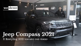 Jeep Compass 2021 | The 2021 Restyling seen LIVE (ENG SUBS)