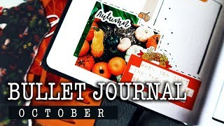 BULLET JOURNAL October | Plan With Me | Ежедневник на ОКТЯБРЬ