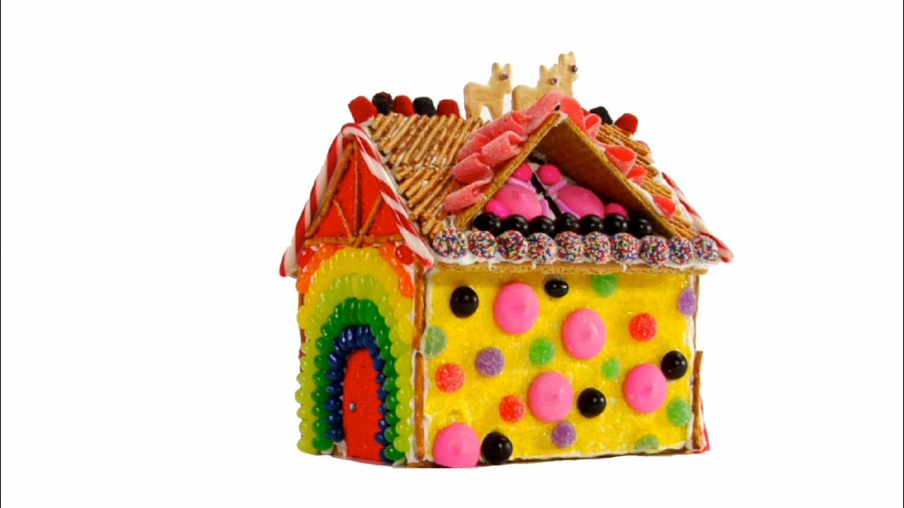 How To Decorate Gingerbread Houses Youtube