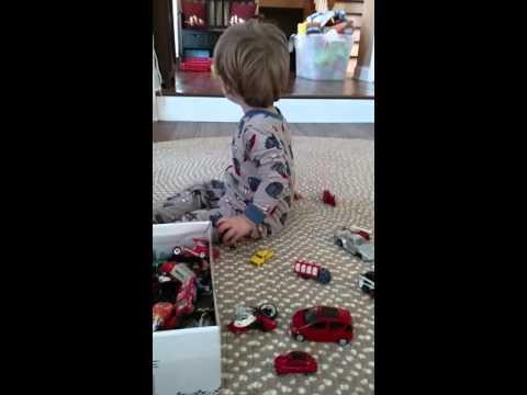 Isaac and his cars