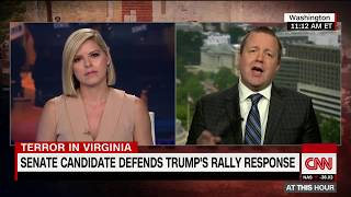 Stop talking! GOP senate candidate, CNN anchor battle over Confederate statues