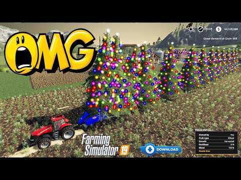 Do You Like My Decorations? Christmas Tree Harvesting in Farming Simulator 19