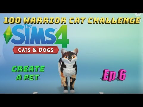 how to create a warrior cat sims 4 pets