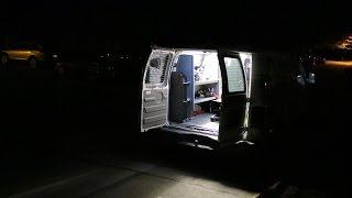 Work Van Interior Lighting (With Poorly Drawn Wiring Diagram)