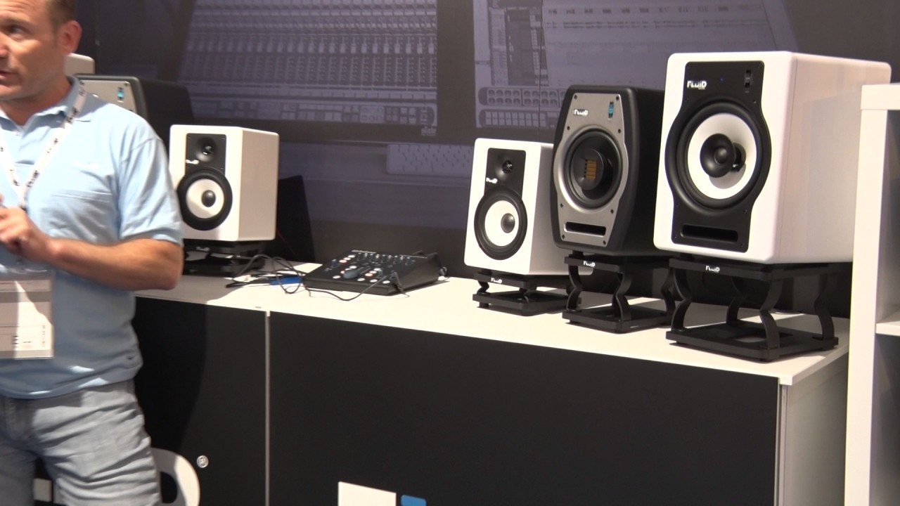 Musikmesse 2017 Fluid Audio Speaker Stands Prolight Sound English