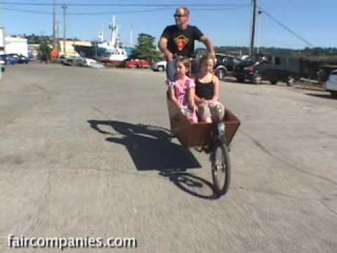 Bakfiets The Suv Of Bikes Youtube