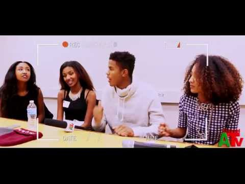Trevor Jackson & The EriAm Sisters Backstage at The Sister Accord Tea Party