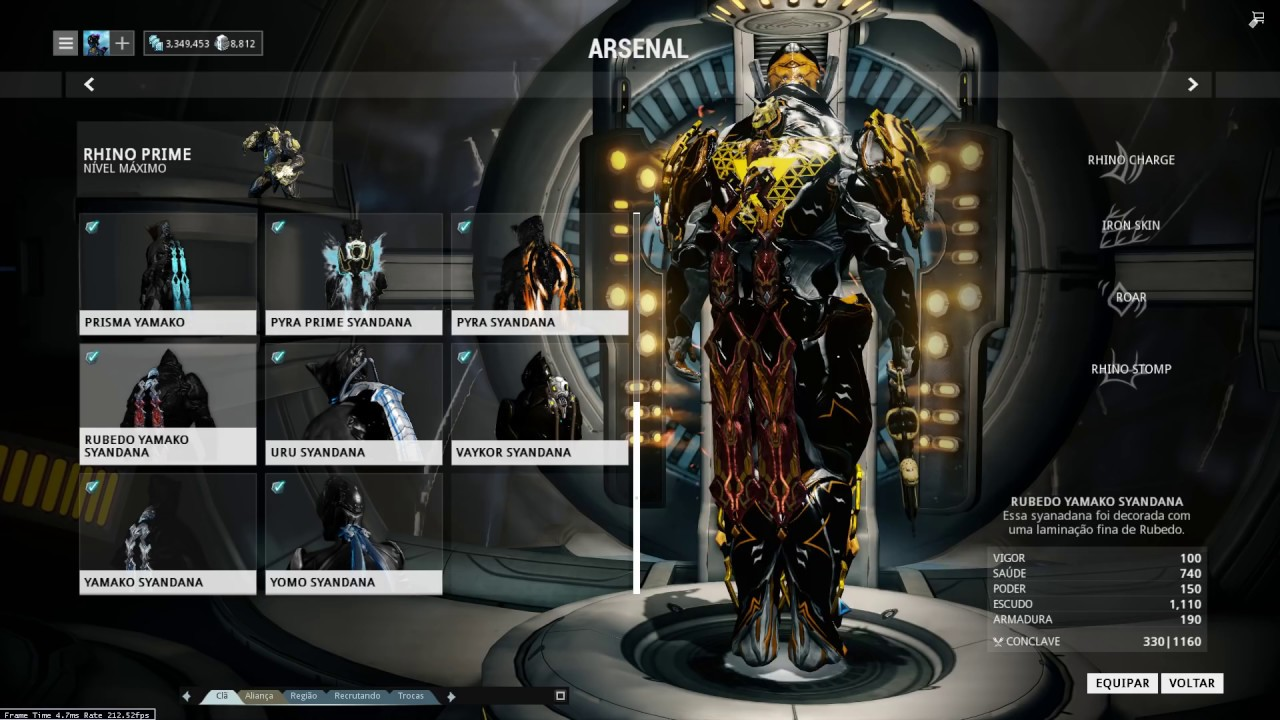 warframe how to get liset prime skin