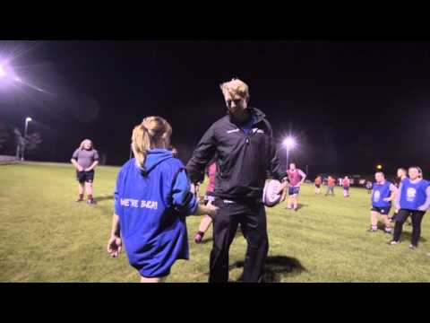 Lewis Moody Rewards Handsworth RUFC with a fun-packed training session