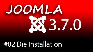 Homepage erstellen mit Joomla 3.7 - Die Installation [1080p HD]