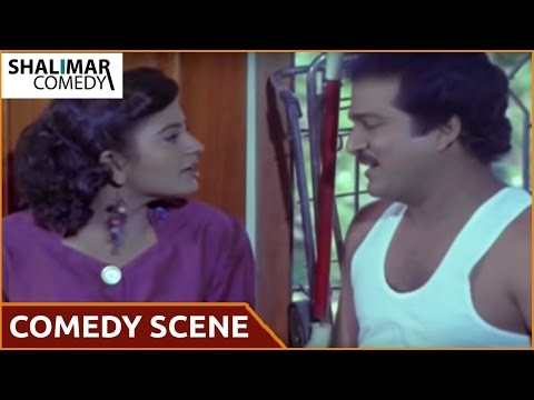 Vaddu Bava Tappu Movie  Rajendra Prasad With Indraja Comedy   Rajendra Prasad