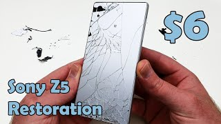 $6 smashed Sony Xperia Z5 Restoration