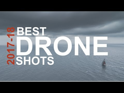 WOW! 😱Best DRONE shots of 2017-18 | Volvo Ocean Race