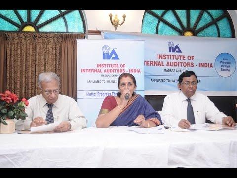 The Institute of Internal Auditors India Press Meet Video | #IIA #Auditors