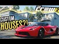 CUSTOM HOUSES/GARAGES?! | The Crew 2