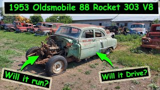 Bought what was left of a 1953 Oldsmobile off marketplace, Will it run and drive?