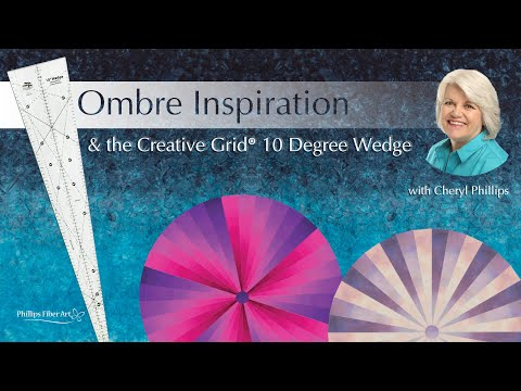 Ombre Inspiration With The 10 Degree Wedge