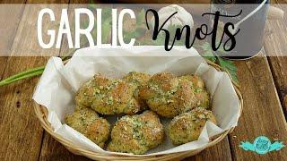 Making Garlic Knots