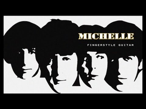 Michelle - The Beatles for Fingerstyle Guitar by Frédéric Mesnier