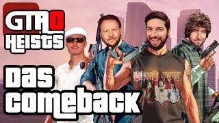 Thumbnail für Das COMEBACK des Jahres! - Wir wagen uns zu viert an GTA Online Heists