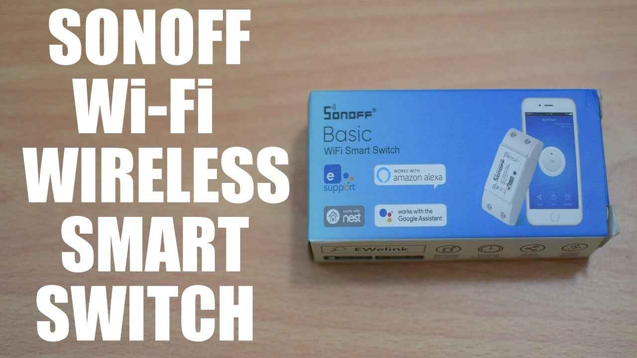 Sonoff Wi Fi Wireless Smart Switch Review Demo Infrared Toggle For Home Appliances Electronicslab