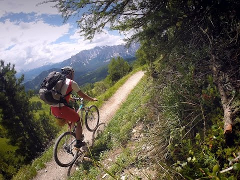 AlpenCross by MTB from München (Germany) to Riva del Garda (Italy).