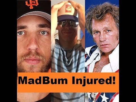 Madison Bumgarner is No Evel Knievel! | MadBum Injured!