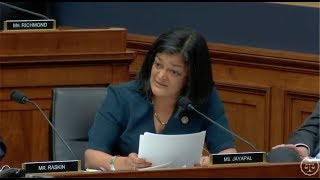 Rep. Jayapal Questions Attorney General Jeff Sessions Free HD Video