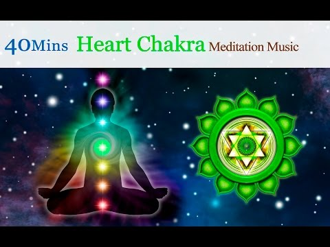 ★40mins★Tibetan Singing Bowls Meditation Music for Chakra Healing:Heart Chakra (for Compassion)
