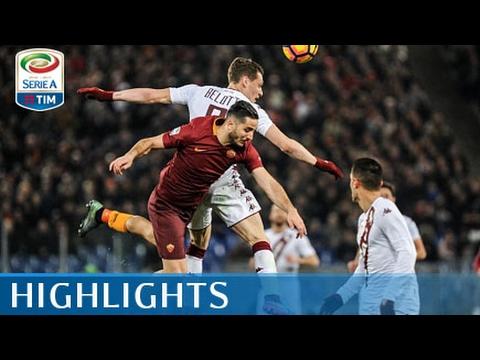 Roma - Torino - 4-1 - Highlights - Giornata 25 - Serie A TIM 2016/17