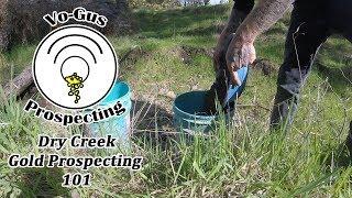 Dry Creek Gold Prospecting 101