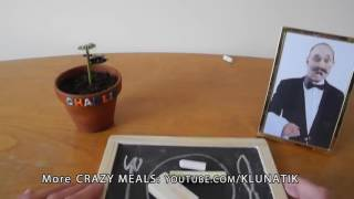 Kluna EATING CHALK CRAYONS!! crazy meals #36   ASMR eating sounds no talk