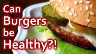 Healthy Burger Recipe Or Not? Hamburgers For Weight Loss? Diet & Nutrition | The Truth Talks