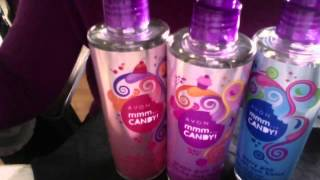 What's in My Avon Bag Candy Body Mist From Avon $5. 99