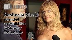 Nastassja Kinski attended an exhibition in Moscow, 24.09.2015