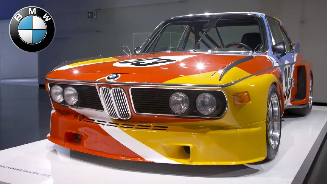 Art Car Museum >> Bmw Museum Special Exhibition Bmw Art Cars How A Vision Became Reality