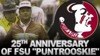 "25th Anniversary of FSU ""Puntrooskie"" 