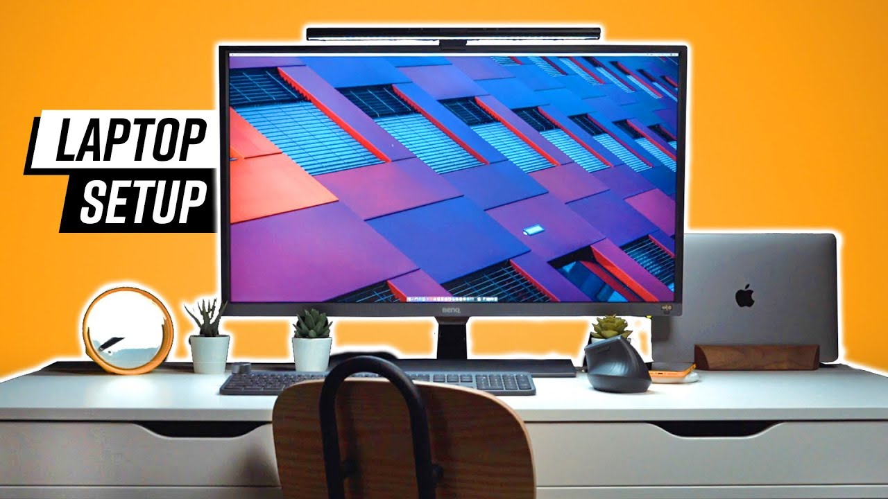 - The Best 2018 Laptop Desk Setup - YouTube