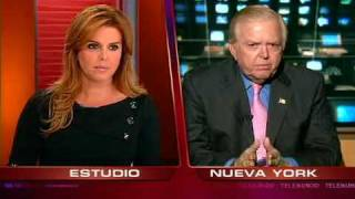 María Celeste vs Lou Dobbs Part 2