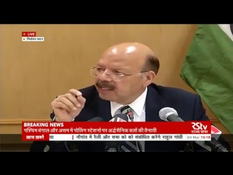 Press briefing of Election Commission of India | 4 March, 2016