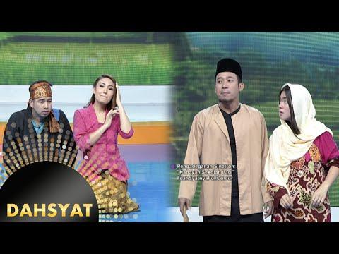 Lucunya Raffi & Dewi Ayu Adegan ''Kabayan Sekolah Lagi'' [Dahsyat] [8 April 2016]